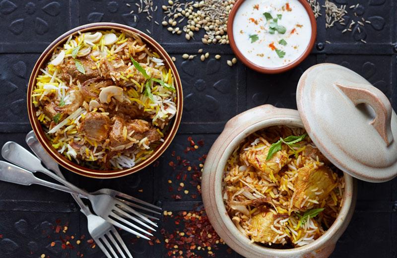 Food-photographer-Haveli-biryani-curry